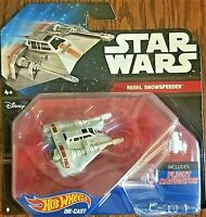 Disney Hot Wheels Star Wars Starship Rebel Snowspeeder with Flight Navigation