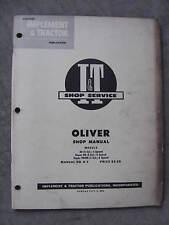 Oliver Super 99 Super 99 Super 99Gm I&T tractor Shop Repair Manual