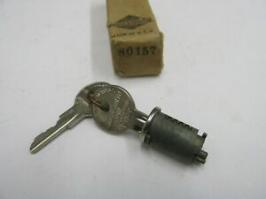 1936 1937 1938 NOS PACKARD TRUNK DECK LID LOCK CYLINDER