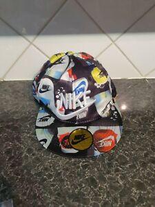 "BASEBALL CAP - SNAPBACK - GENUINE ""NIKE"" - NIKE MULTI PRINT - SEE PICS"