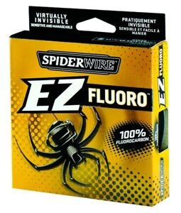 Spiderwire EZ Fishing Fluorocarbon Line Filler Spool 4lb 200yd Clear SEZFFS4-15