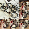 Women  Crystal Hair Ring Rope Elastic Band Rubber Ponytail Holder Scrunchies