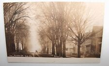 ANTIQUE RPPC COLDON ST. POLO ILL CHASE ILL 1900'S HORSE & BUGGY DIRT ROAD HOMES