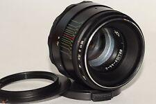Helios-44-2 58mm f./ 2 Helios 44-2 M42 Lens + adapter Canon EOS 5D 300D 6D 1100D