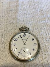 12s Waltham No 210/1894 Pocket Watch, 20 Year GF Case, 7j,  1914  (blue markers)