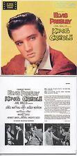 CD ALBUM Elvis PRESLEY - Soundtrack King Creole (1958) - Mini LP REPLICA 12-TR