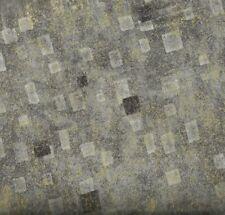 Gustav Klimt metalliccharcoal gray  Kaufman fabric