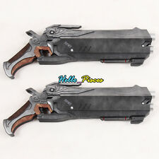 Exclusive Made Anime Game Overwatch Ow Reaper Double Gun Weapon Pvc Cosplay Prop