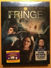 Fringe The Complete Fifth and Final Season Blu-ray  Ultra Violet  Brand New! 5