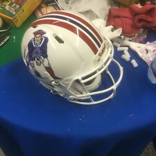 Patriots Riddell Speed Football Helmet, Custom Proline Authentic ,Size Adult L