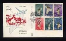 SOMALIA AFIS - PA - 1955 - Gazzelle - FDC Venetia
