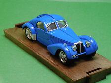 R87 Bugatti 57 S COUPE HP 165 BLU 1936 Brumm 1:43 SERIE ORO REVIVAL modello di auto