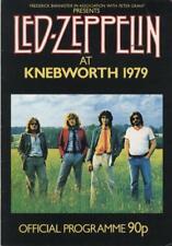 At Knebworth 1979 Led Zeppelin tour programme UK TOUR PROGRAMME 1979