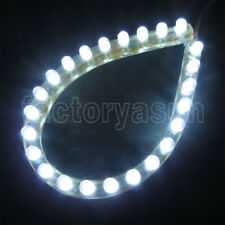 Flexible LED Strip Light Bar Waterproof 24cm 48cm for Car Aquarium Fish Tank