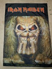 Iron Maiden, Wall Flag, Banner, Tapestry, Rare, 1997