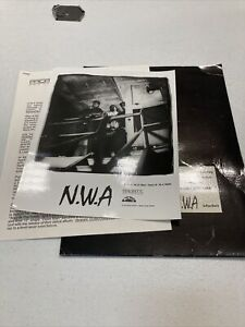 1991 NWA Rapper Priority Records HIP HOP Music Press Kit w/Folder Eazy-E Dr Dre
