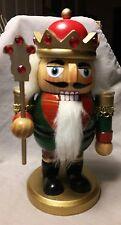 """Wooden Majestic King Nutcracker Figurine~~7"""" Nutcracker"""