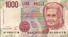 BANCONOTA REPUBBLICA ITALIANA DA 1000 LIRE Fazio-Amici 32-43