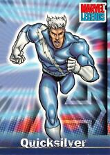 QUICKSILVER / Marvel Legends (Topps 2001) BASE Trading Card #18