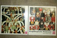 Katalog Erzgebirge Holzkunst, Engel, Nußknacker, Räuchermann, Pyramide, DDR
