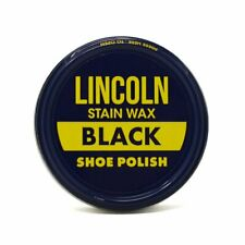 Lincoln Stain Wax Shoe Polish Black - 4 Cans