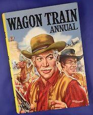 Wagon Train TV Annual copyright 1959 - Artist Signed