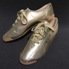 Vintage LA Gear Gold Metallic Shoes Dance Aerobics Sneakers Woemens Size 7