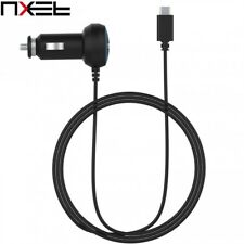 NXET Universal USB-C Car Charger w/ Type-C Cable Samsung Note 8 5 S9 S8 S7 Plus