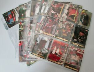 1993 Action packed - NASCAR RACING / COMPLETE 84 CARDS SET in Ultra Pro Sleeves