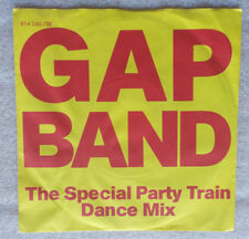 "GAP BAND  **  PARTY TRAIN         7"" Single          TOP-ZUSTAND"