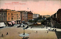 Alexandria Alexandrie Ägypten Egypt ~1910 Place Mohamed Aly Bourse Börse Platz