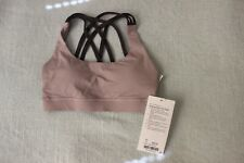 Lululemon Energy Bra  Peek Size 2 Smoky Blush/Moonphase