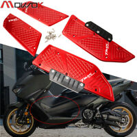 CNC alloy footrest foot rest pad mat footboard For Yamaha TMAX560 TMAX 560 2020