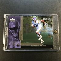 RANDY MOSS 1998 UPPER DECK BLACK DIAMOND #B26 SHEER BRILLIANCE ROOKIE RC /1800