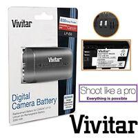 Vivitar LP-E6 / LP-E6N Rechargeable Li-ion Battery (Canon LP-E6 Replacement)
