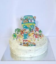 SCOOBY DOO  edible 3d party cake topper scene stand up decoration set