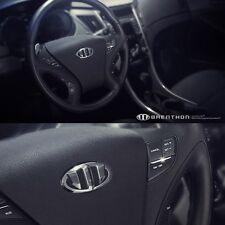 BRENTHON Horn Cap & Front & Rear New Emblems x 3 for Hyundai Sonata YF 2010-2012