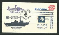 Usa: Postal stationery type cover with ice breaker with special postmarks. US504