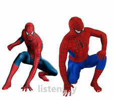 Spider-man Tights Adult Spandex Superhero Zentai Jumpsuit Cosplay Costume New