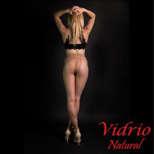 Cecilia de Rafael Vidrio 15 Pantyhose | Ultra High Shine Sheer to Waist Tights