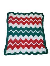 Hand Crochet Lap Blanket.Just Made for Christmas!