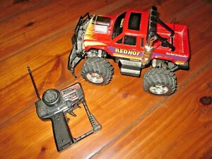 Nikko Red Hot vintage 1980s RC truck