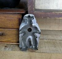 Vintage Tin COWBOY Cookie Cutter Flat Back PA Folk Art