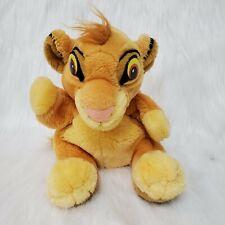 "8"" The Lion King Simba Puppet Plush Stuffed Animal Disney Applause Toy B350"