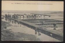 POSTCARD LE CROISIC FRANCELES PARCS À HUÎTRES À MOULES PALOURDES ET BIGOR 1910'S