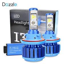 H13 9008 Hi/Lo Dual Led Headlight Kit Bulbs 60W 7200 LM CREE 6000K White Beam