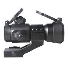 Reflex 4 MOA Red Green Dot Sight Scope Tactical w/ 20mm Weaver Rail