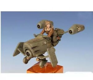 1/35 Resin Figure Model Kit Sexy Girl Aircraft Pilot SteamPunk WWII Unpainted