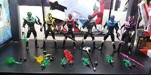 Power Rangers Lightning Collection 6 Inch Space Psycho Rangers with Green Psycho