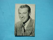 1947/66 TELEVISION & ACTORS EXHIBIT CARD PHOTO GARY COOPER NICE!! EXHIBITS